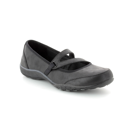 Skechers Mary Jane Shoes - Black - 23209 CALMLY RELAXED
