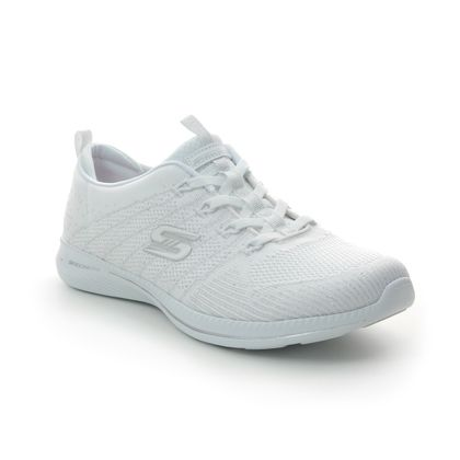 Skechers Trainers - White-silver - 104015 CITY PRO GLOW