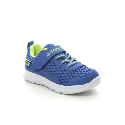 Skechers Boys Trainers - Royal Blue - 400045N COMFY FLEX 2.0