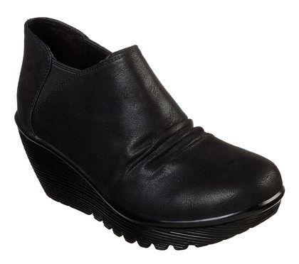 Skechers Shoe Boots - Black - 44749 CURTAIL