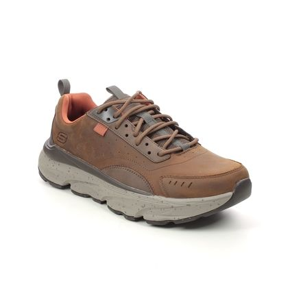Skechers Walking Shoes - Brown - 210342 DELMONT RELAXED