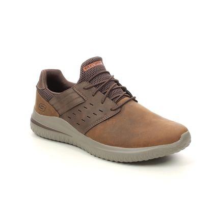Skechers Slip-on Shoes - Brown - 210308 DELSON ANTIGO 3