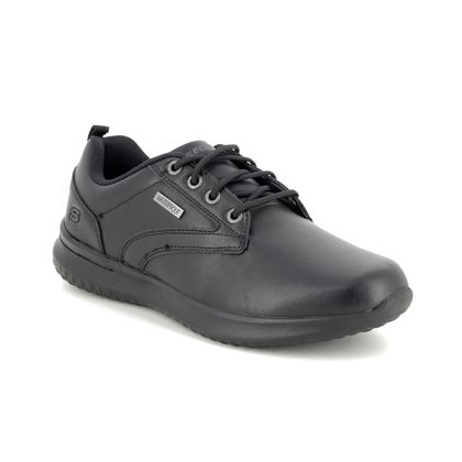 Skechers Casual Shoes - Black - 65693 DELSON ANTIGO WATERPROOF