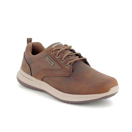 Skechers Casual Shoes - Brown - 65693 DELSON ANTIGO WATERPROOF
