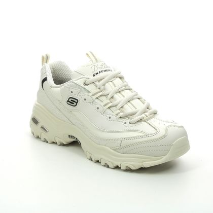Skechers Trainers - Off White - 11931 DLITES FRESH