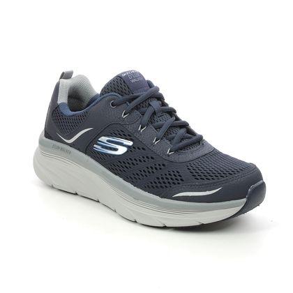 Skechers Trainers - Navy Grey combi - 232044 DLUX WALKER