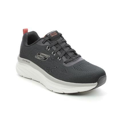 Skechers Trainers - Black - 232261 DLUX WALKER RELAXED FIT