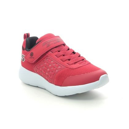 Skechers Boys Trainers - Red-black - 90740L DYNA LIGHTS