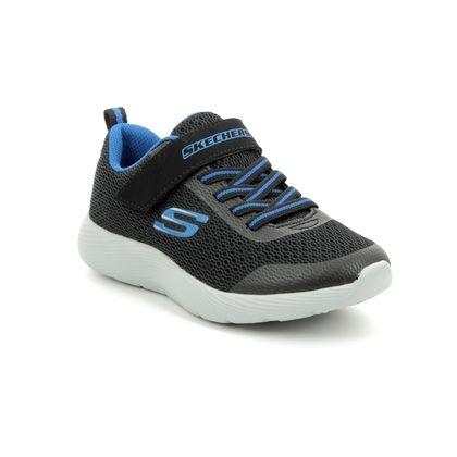 Skechers Boys Trainers - Black - 98120 DYNA-LITE