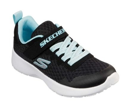 Skechers Girls Trainers - Black - 81303L DYNAMIGHT G