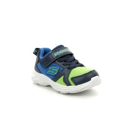 Skechers 1st Shoes & Prewalkers - Blue Lime - 95020 ECLIPSOR INF