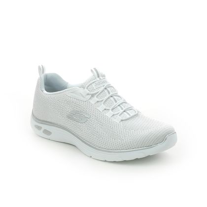 Skechers Trainers - White-silver - 149273 EMPIRE D LUX RELAXED