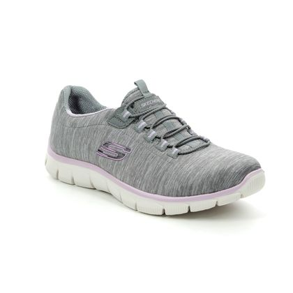 Skechers Trainers - Grey Lavender - 12808 EMPIRE SEE YA RELAXED