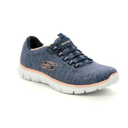 Skechers Trainers - Navy Coral - 12808 EMPIRE SEE YA RELAXED