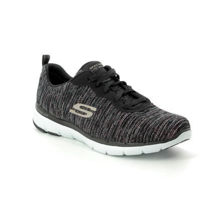 Skechers Trainers - Black - 13071 ENDLESS GLAMOUR