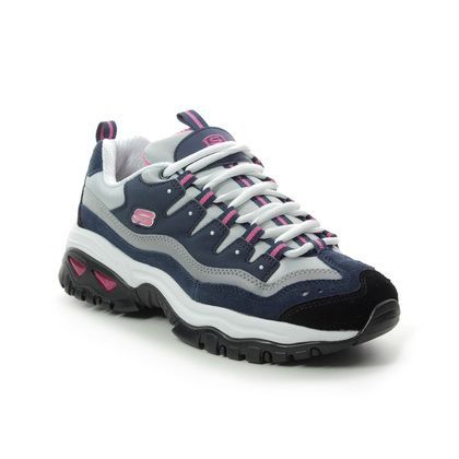 Skechers Trainers - Navy Pink - 13400 ENERGY WAVE