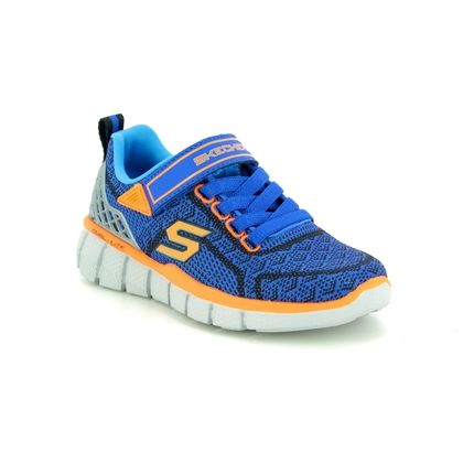 Skechers Boys Trainers - Navy - 97383 EQUALIZER 2.0