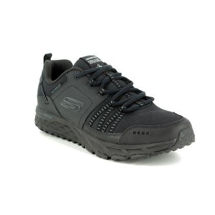 Skechers Trainers - Black - 51591 ESCAPE PLAN