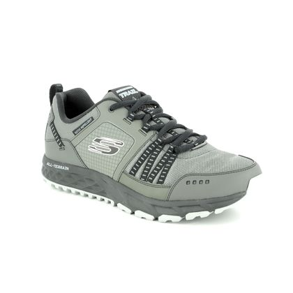 Skechers Trainers - Grey - 51591 ESCAPE PLAN