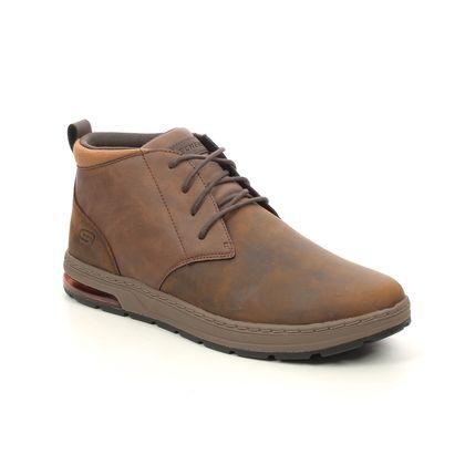 Skechers Casual Shoes - Brown - 210141 EVENSTON HI