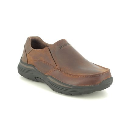Skechers Slip-on Shoes - Brown - 204185 EXPENDED HELANO