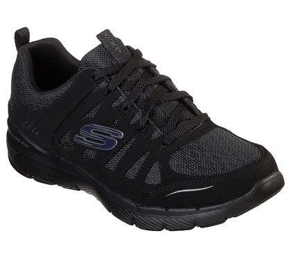 Skechers Trainers - Black - 13061 FLEX APPEAL 3.0