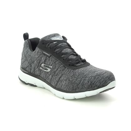 Skechers Trainers - Black grey - 88888400 FLEX APPEAL TEX