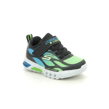 Skechers Boys Trainers - Black - 400016N FLEX GLOW INF05