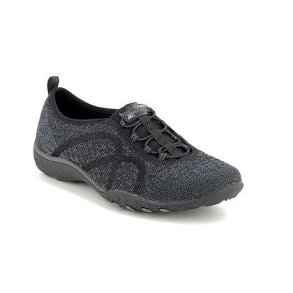 Skechers Trainers - Black - 23028 FORTUNEKNIT
