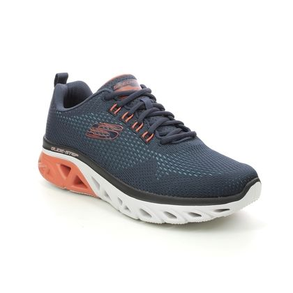 Skechers Trainers - Navy - 232270 GLIDE STEP WAVE