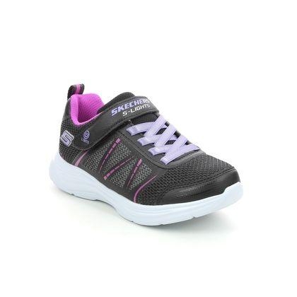 Skechers Girls Trainers - Black - 302302L GLIMMER KICKS