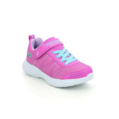 Skechers Girls Trainers - Hot Pink - 302302L GLIMMER KICKS