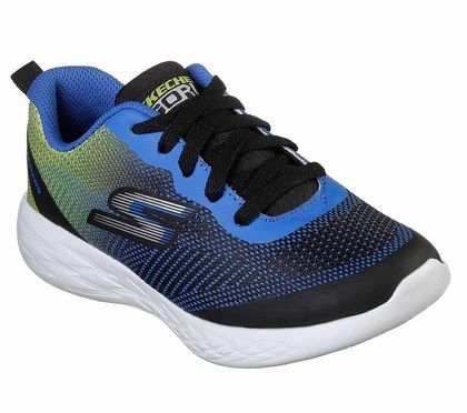 Skechers Boys Trainers - Black - 97866L GO RUN 600 LACE
