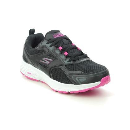 Skechers Trainers - Black pink - 128075 GO RUN CONSIST