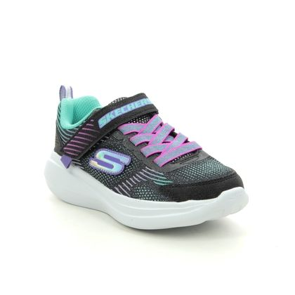 Skechers Girls Trainers - Black - 302403L GO RUN FAST JAM
