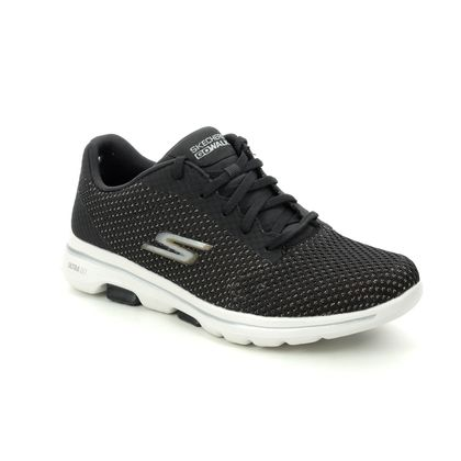Skechers Trainers - Black gold - 124021 GO WALK 5 LACE