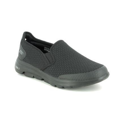 Skechers Trainers - Black - 55510 GO WALK 5 MENS