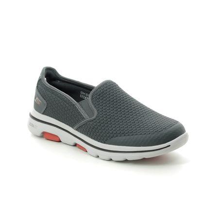 Skechers Trainers - Charcoal - 55510 GO WALK 5 MENS