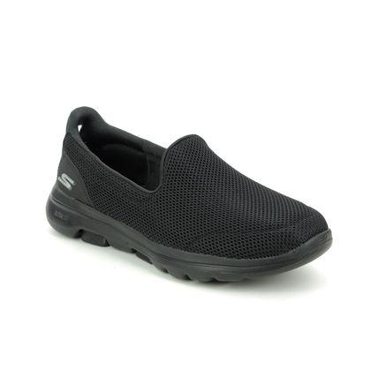 Skechers Trainers - Black - 15901 GO WALK 5 MESH