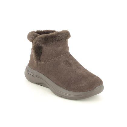 Skechers Ankle Boots - Chocolate brown - 144400 GO WALK CHUGGA