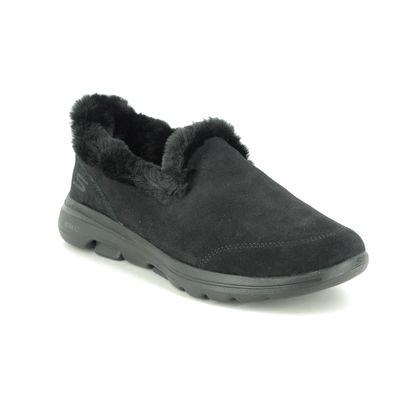 Skechers Slippers - Black - 18250 GO WALK SLIPPER