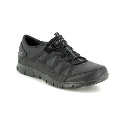 Skechers Trainers - Black - 23356 GRATIS FINE