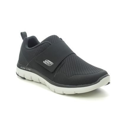 Skechers Trainers - Black-white - 52183 GURN