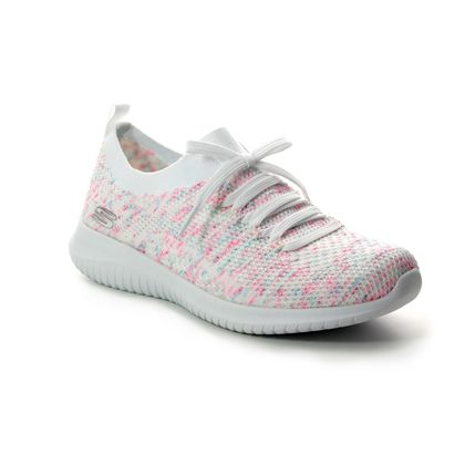 Skechers Trainers - White - 13101 HAPPY DAYS