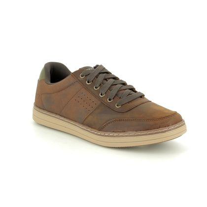 Skechers Casual Shoes - Brown - 65876 HESTON AVANO