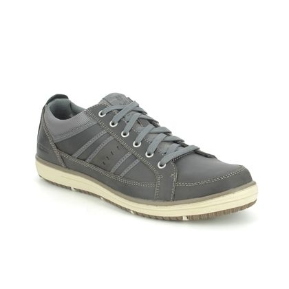 Skechers Casual Shoes - Charcoal - 63418 IRVIN HAMAL