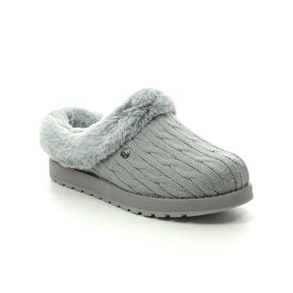 Skechers Slippers & Mules - Grey - 31204 KEEPSAKES