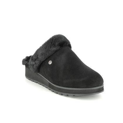 Skechers Slippers - Black - 31245 KEEPSAKES MULE