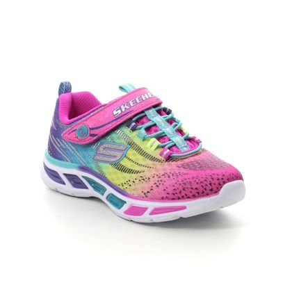 Skechers Girls Trainers - Multi coloured - 10667 LITEBEAMS