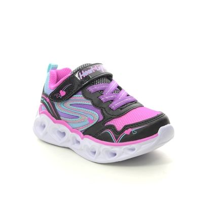 Skechers Girls Trainers - Black - 20294N LOVE SPARKS